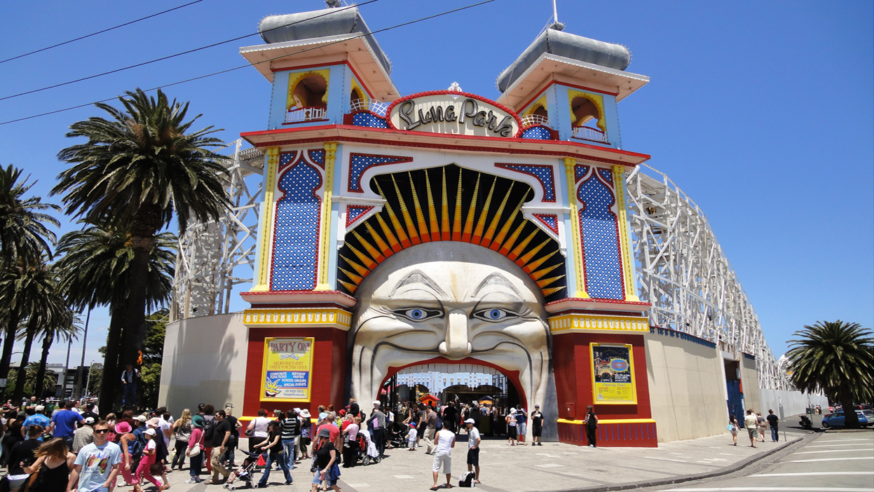 Luna park mouth melb